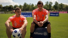 Video clips FC Bayern München - Football for Life