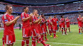 Video clips FC Bayern München - Team Presentation 2013/14