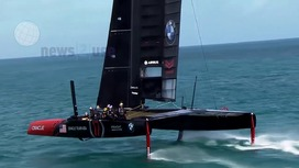Video clips The America's Cup 2017 - Tech Stories