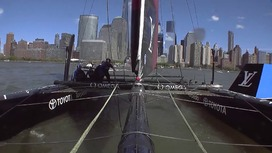 Video clips Louis Vuitton America's Cup World Series - New York - Sunday