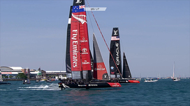 Video clips Louis Vuitton America's Cup World Series - Chicago - Sunday