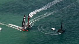 Video clips Louis Vuitton America's Cup World Series - Portsmouth - Saturday