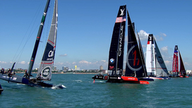 Video clips Louis Vuitton America's Cup World Series - Portsmouth - Sunday