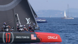 Video clips Louis Vuitton America's Cup World Series - Toulon - Sunday