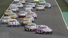 Video clips 01 - Porsche Carrera Cup - Oschersleben
